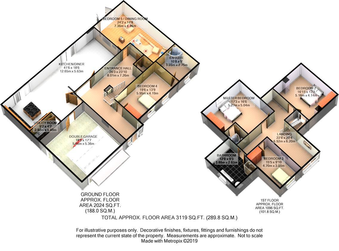 Floorplans For Hockley Lane, Wingerworth, Chesterfield